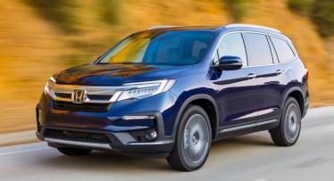 2021 Honda Pilot Powered with new engine system