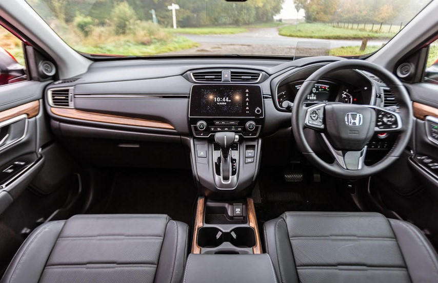 2021 Honda ZR-V Dashboard and Infotainment Features