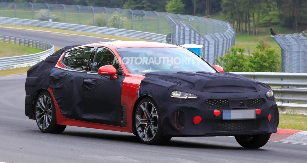 2021 Kia GT Stinger Test drive with its new engine system