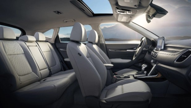 2021 Kia Seltos with new interior design