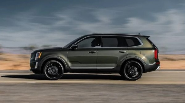 2021 Kia Telluride test drive with new engine system