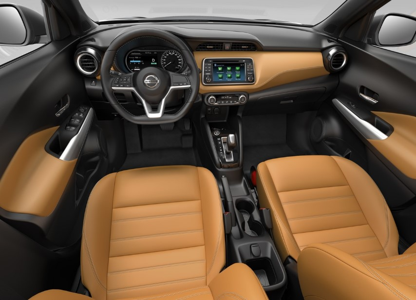 2021 Nissan Kick Dashboard and Infotainment features