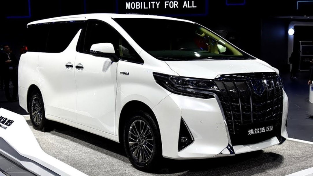 2021 Toyota Alphard at Chinese Autos Show