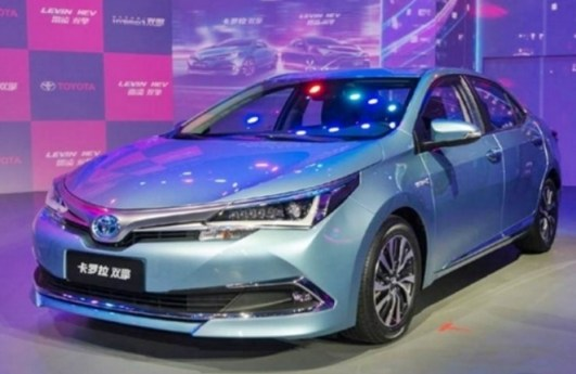 2021 Toyota Avensis at Beijing Auto Show