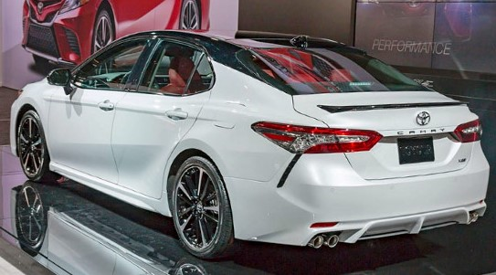 2021 Toyota Camry Powered with new engine system