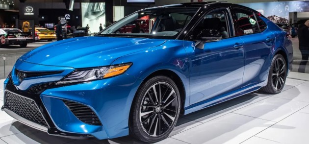 2021 Toyota Camry at Tokyo Auto Show