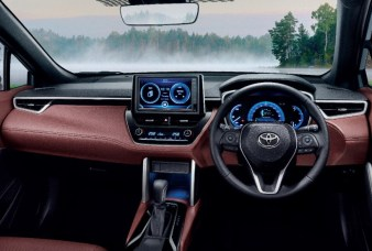 2021 Toyota Corolla Cross Dashborad and infotainment system