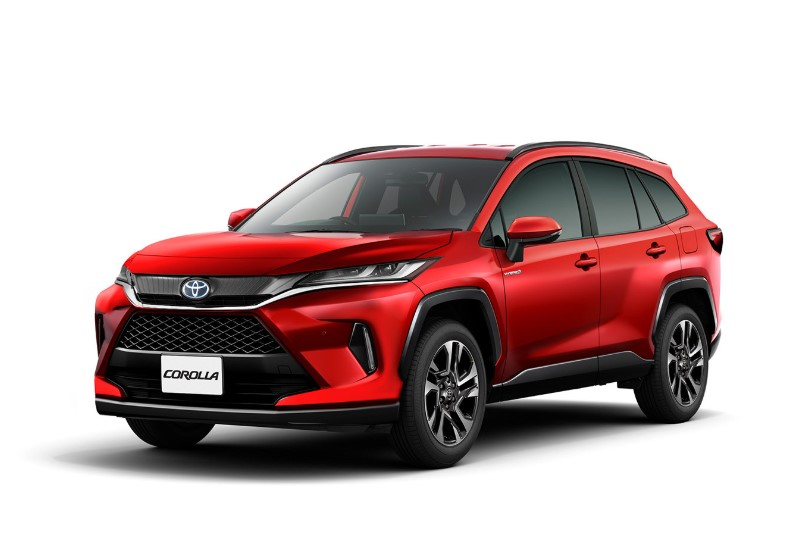 2021 Toyota Corolla Cross with new exterior design