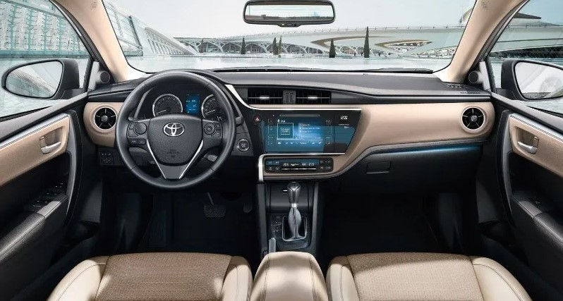 2021 Toyota Corolla has more features on Dashboard
