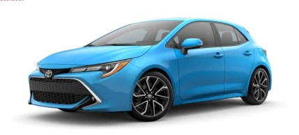 2021 Toyota Corolla iM Hatchback with new exterior design