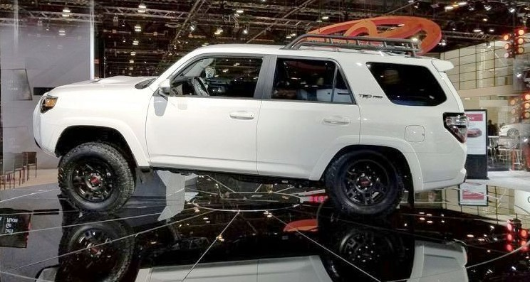 2022 Toyota 4Runner TRD at Auto Show
