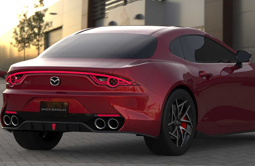 2021 Mazda RX-7 have more power with new engine inside