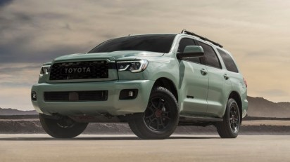 2021 Toyota 4Runner Trail with new exterior design