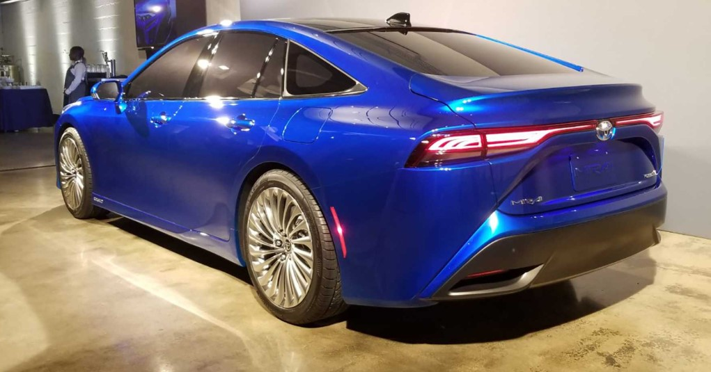 2021 Toyota Mirai Powered with new engine system