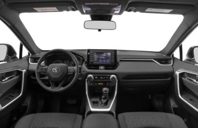 2021 Toyota RAV4 LE Dashboard and Infotainment features
