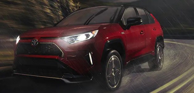 2021 Toyota RAV4 Prime Powered by Hybrid Engine