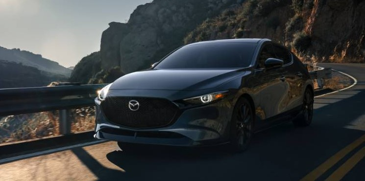 2021 Mazda 3 with new exterior