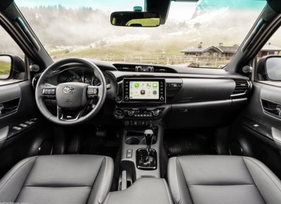 2021 Toyota Hilux with new interior lineup
