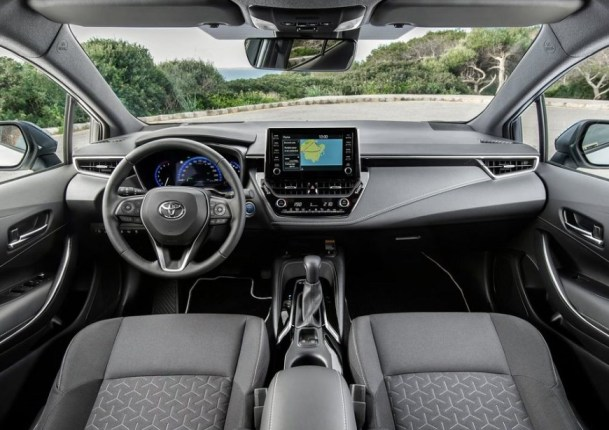 2022 Toyota GR Corolla with new cabin design