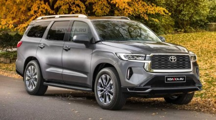 2022 Toyota Sequoia with new exterior