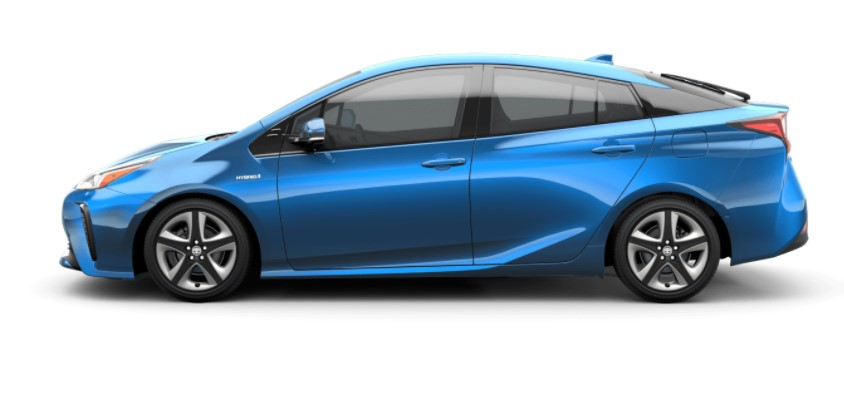 2020 Toyota Prius Hybrid with new exterior