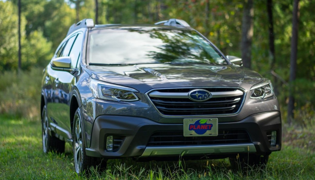 2022 Subaru Outback with new exterior lineup