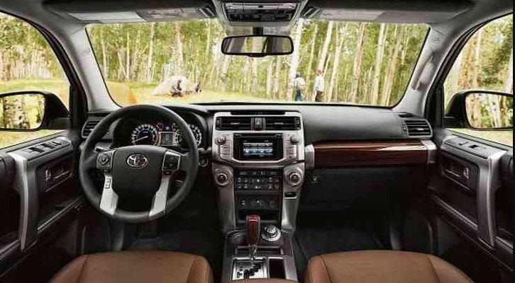 2022 Toyota 4Runner new interior