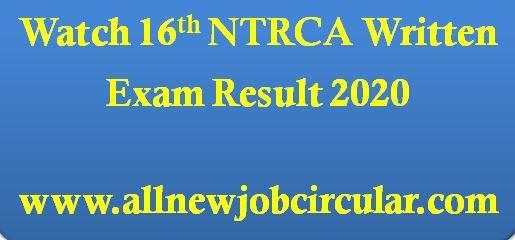 watch ntrca result