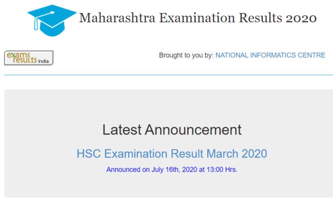 maharashtra exam result board hsc announced