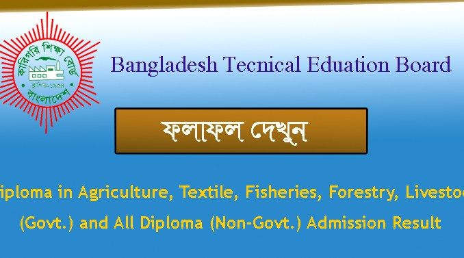 diploma polytechnic admission result 2020