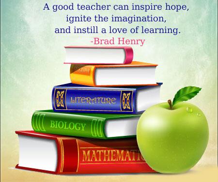 international teachers' day quotes