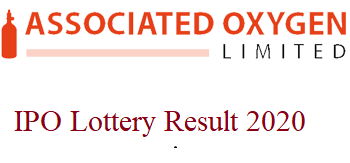 Associated Oxygen ltd ipo result