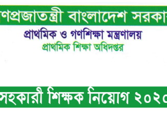 dpe.teletalk.com.bd job circular 2020