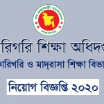 technical education board job circular 2020