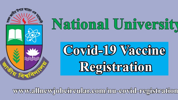 covid 19 vaccine registration nu