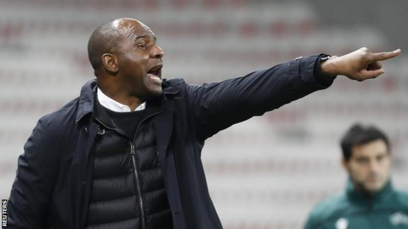 Nice sacks Patrick Vieira as manager after two and a half years in charge
