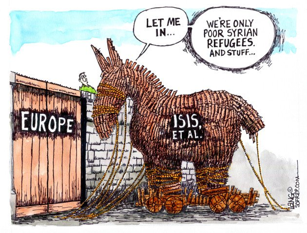 Image result for isis disguised as refugees