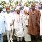 Fayemi, Oni, Makinde grace Fayose son's wedding