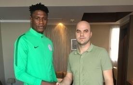 (Photo Confirmation): Super Eagles Defender Seals Transfer To Lokomotiv Plovdiv In Morocco