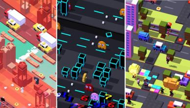crossy road screenshots