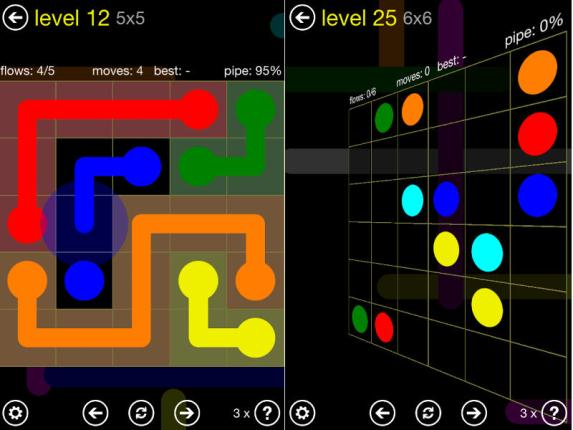 flow free screenshots level