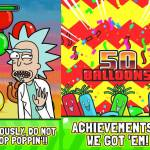 Rick and Morty: Jerry's Game is just about popping balloons