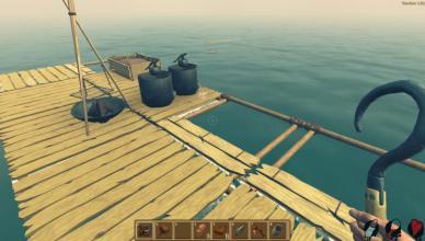 raft survival game screenshot