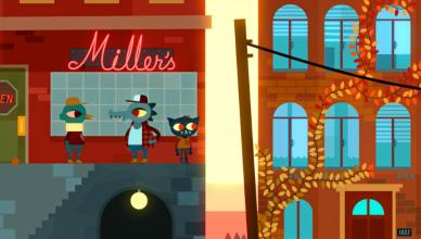 night in the woods millers bar