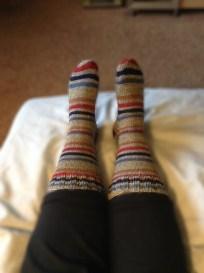 Oh look! My feet!