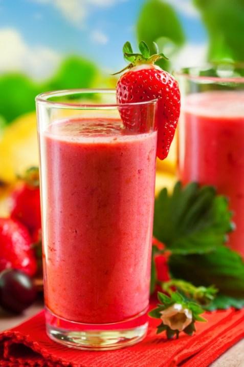 jordbær smoothie oppskrift
