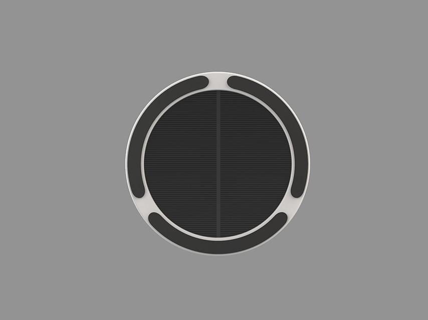 LightDisc |Solar| Window Solar Charger Sticky pad