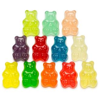 Stacked gummi bears