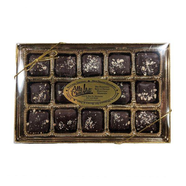 Dark Chocolate-Covered Almond Toffee Gift Box