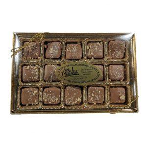 Milk Chocolate-Covered Almond Toffee Gift Box